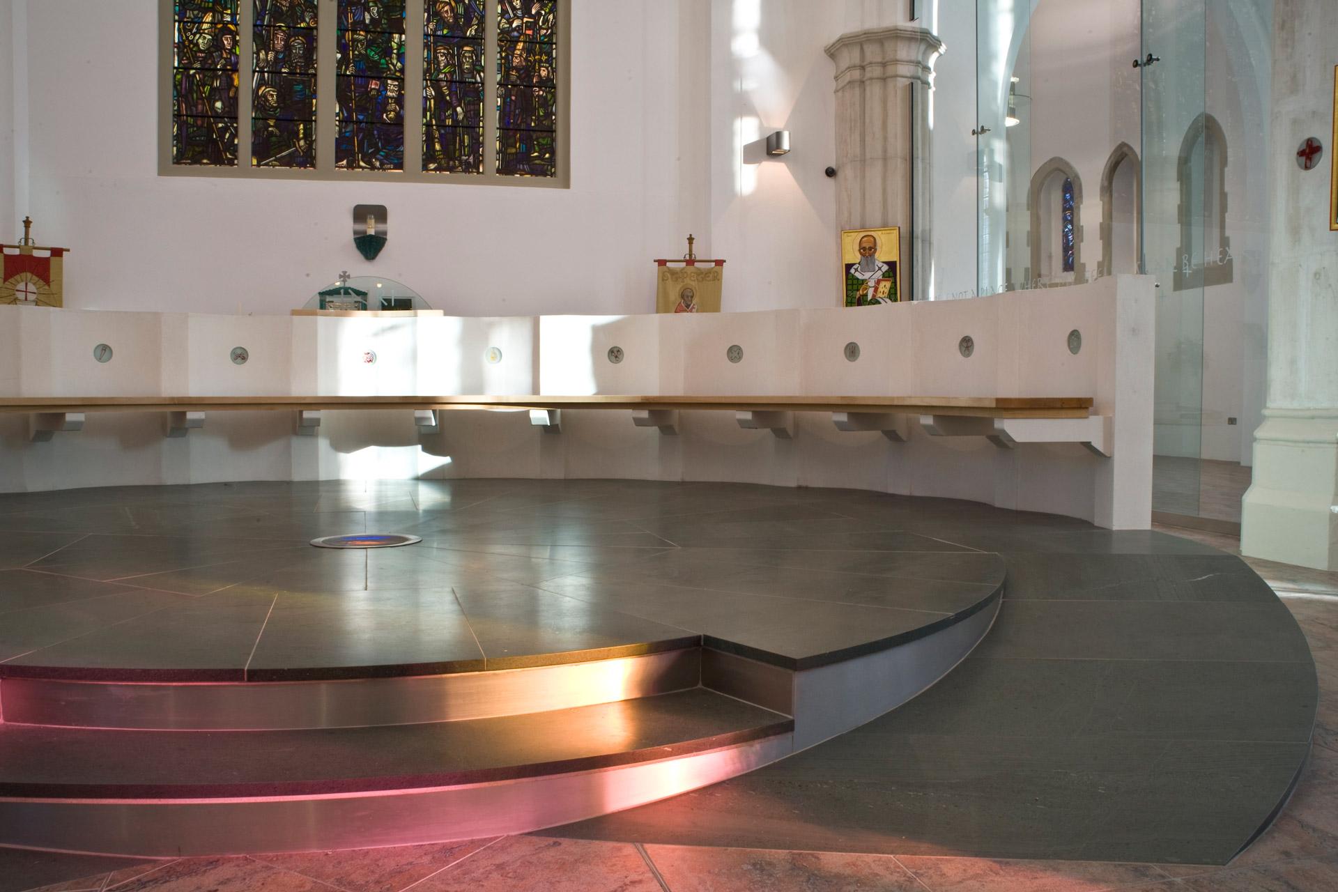 Conservation engineering. Church renovation.