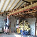 Garage conversion steel
