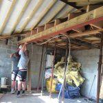 Garage conversion steel