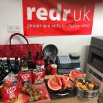 Fundraising for Wear Red for RedR UK