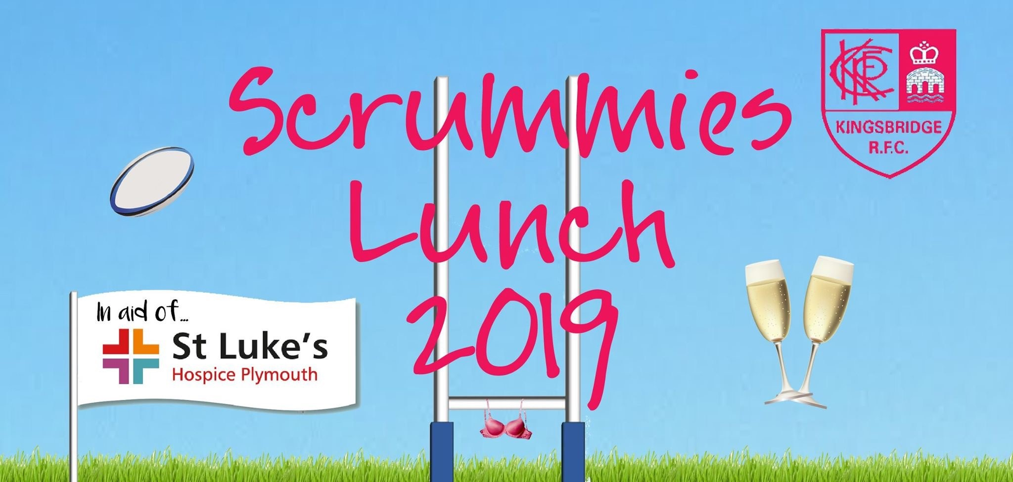 Scrummies lunch 2019 advert