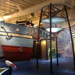 Trawler for Experimentarium exhibit